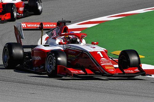 F3バルセロナ:レース3はレッドブル育成のハウガーが独走V。岩佐歩夢は15位