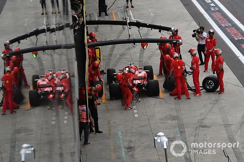 Mercedes: Ferrari стала фаворитом ГП Бразилії після вдалого ризику з шинами