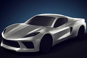 Let's hope the mid-engined Chevy Corvette will look that good