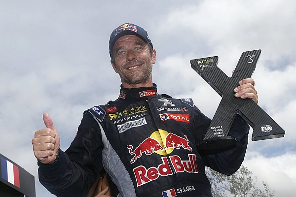 World Rallycross Loeb returns to Peugeot for second World RX campaign