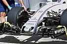Ecco il nuovo muso più corto della Williams FW38