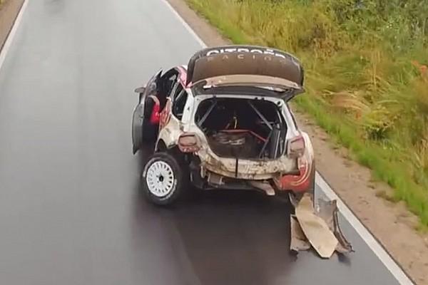Video: Der fahrende Schrotthaufen von WRC-Pilot Stephane Lefebvre