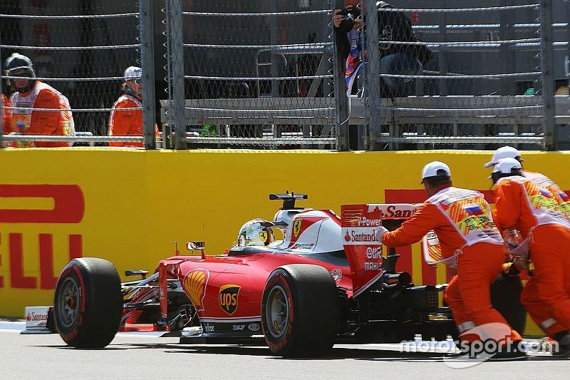 """Vettel: """"Necesitamos entender lo que sucedió"""""""