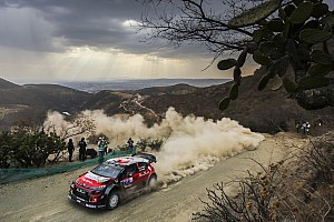 WRC Leg report Mexico WRC: Meeke claims lead as drivers struggle with overheating