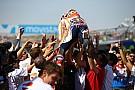 GALERI: Selebrasi kemenangan Marquez di Aragon