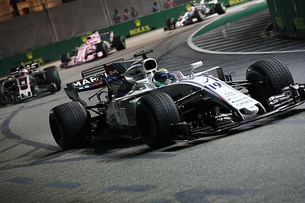 فورمولا 1 عمود ماسا: فيتيل كان عدائياً خلال حادثة اللفة الأولى في سباق سنغافورة