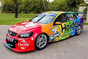 Supercars Breaking news Holden to run 'equality'  livery at Australian Grand Prix