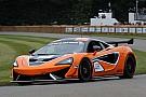 Vintage McLaren 570S Spider'ın Goodwood lansmanı
