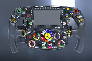 Formel 1 Analyse Formel-1-Technik: Neuer Knopf am Ferrari-Lenkrad von Sebastian Vettel