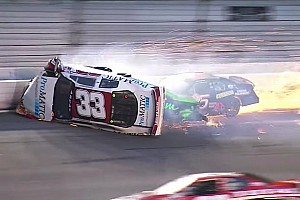 ARCA Breaking news Fontaine suffers fractured vertebra in ARCA Daytona rollover