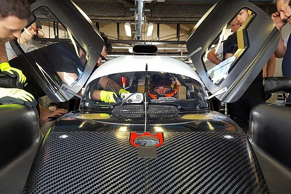 Kubica tes mobil LMP2 SMP Racing di Monza