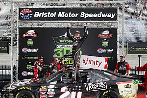 NASCAR XFINITY Relato da corrida