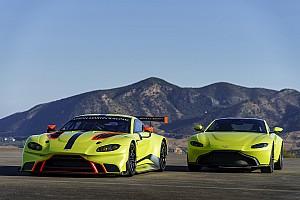 Autó Motorsport.com hírek Gyors szülés volt: itt az új Aston Martin Vantage GTE