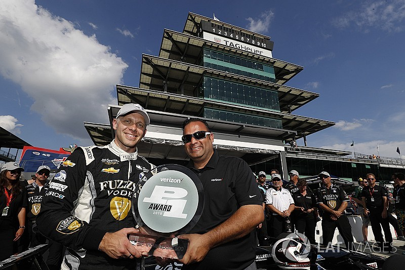 Indy 500: Carpenter pole, Danica Patrick start P7