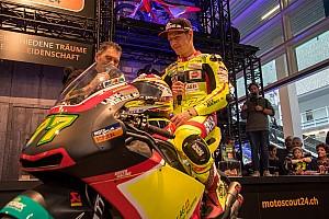 Moto2 Reaktion Dominique Aegerter: 1,4 Sekunden Rückstand in Jerez