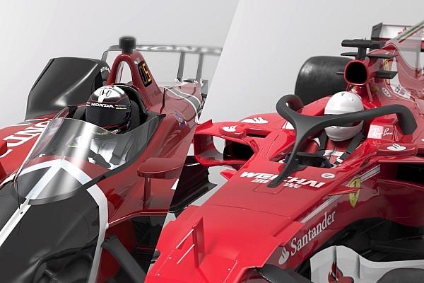 Формула 1 Важливі новини Відео: ексклюзивне порівняння Halo проти Aeroscreen
