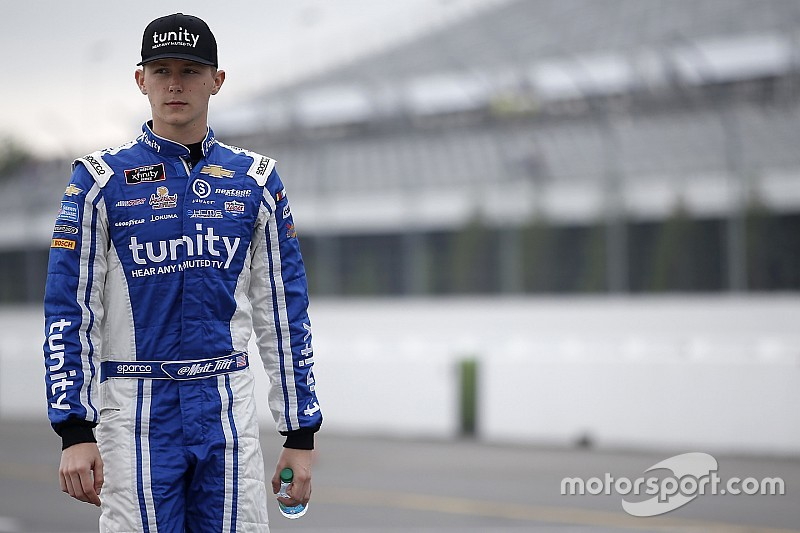 Matt Tifft to join Front Row Motorsports for 2019 Cup season