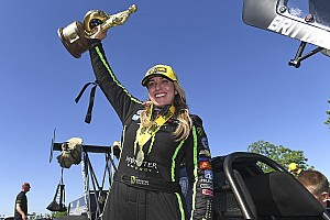 NHRA Race report Brittany Force scores her first win of the year