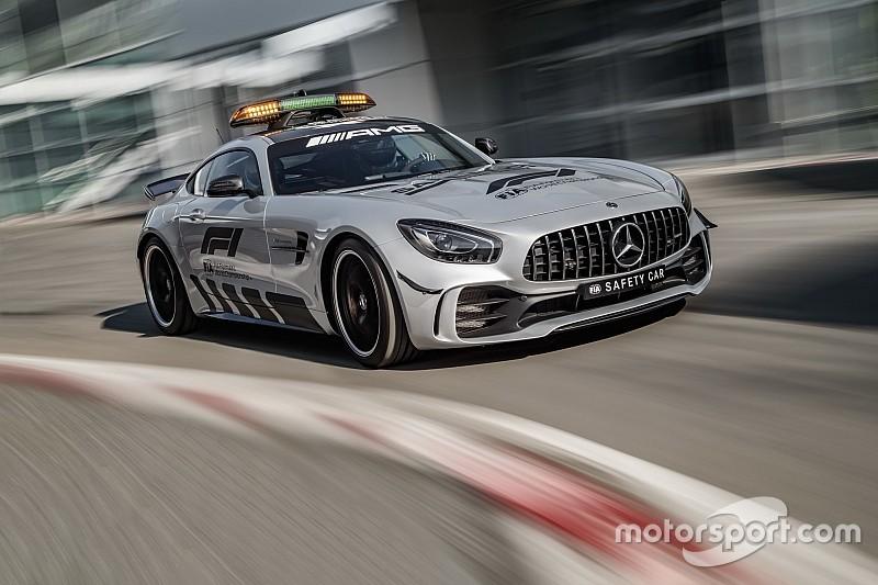 In Beeld Dit Is De Nieuwe Mercedes F1 Safety Car