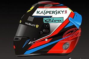 Raikkonen svela su Instagram il casco per il Mondiale 2018 di F.1