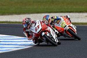 Moto3 レースレポート 鳥羽海渡「ここ数戦は走り出しから苦戦。厳しい展開だった」:Honda Team Asia