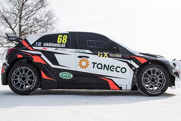 World Rallycross Breaking news Gronholm to field ex-WRC Hyundais in World RX