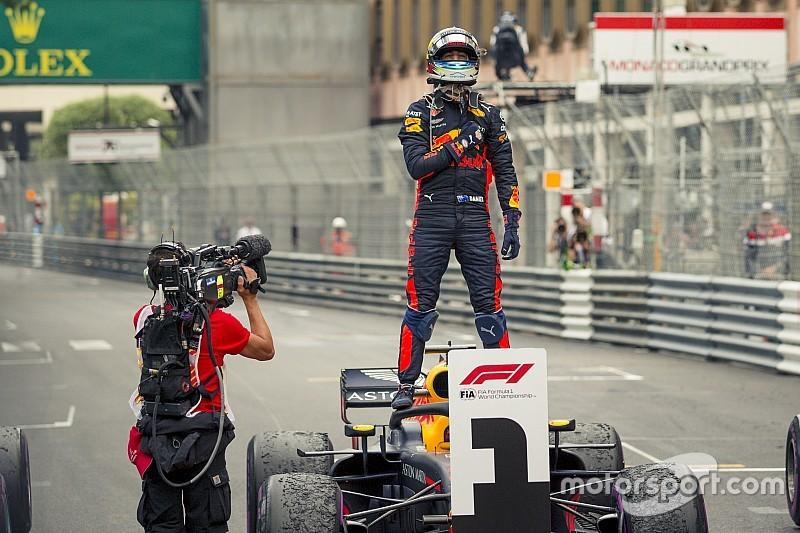 """Ricciardo : """"J'ai fermé les yeux et commencé à pleurer…"""""""