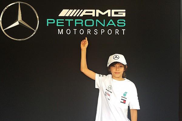 Formula 1 Ultime notizie Mercedes: Antonelli jr ha voluto regalare la prima coppa a Toto Wolff