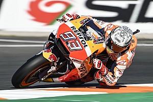 MotoGP Репортаж з практики Гран Прі Валенсії: Маркес очолив третю практику