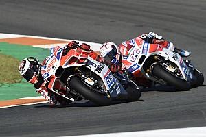 MotoGP Reaktion Doppelter Ducati-Sturz: Lorenzo sieht Anweisung pro Dovizioso, aber...