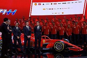 Raikkonen, contento por el nuevo Ferrari