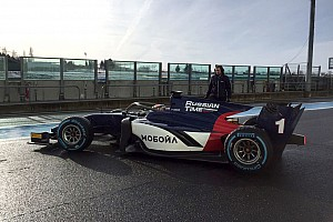 FIA F2 Son dakika Halo'ya sahip 2018 F2 araçları ilk kez piste çıktı