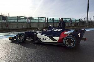 FIA F2 Noticias de última hora Los equipos de F2 estrenan los coches de 2018 que incorporan el Halo