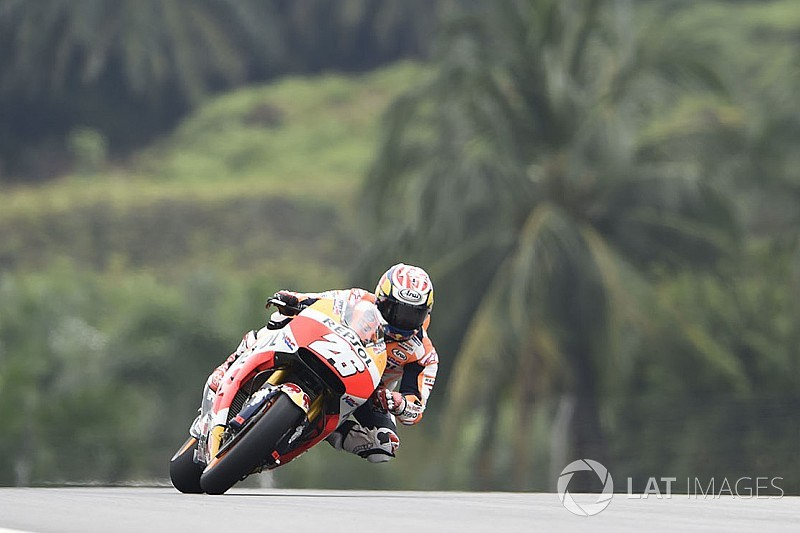 MotoGP 2017 in Sepang: Pole-Position für Pedrosa in Herzschlag-Quali