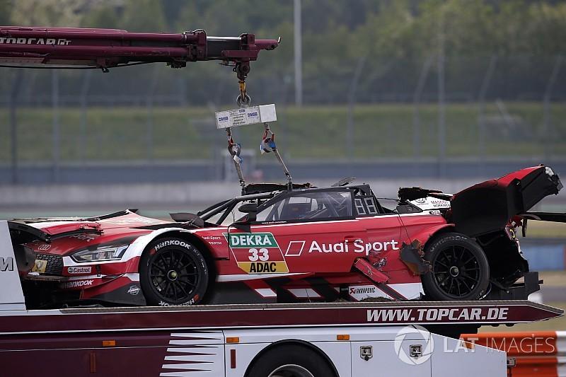 Rast volverá a competir con el chasis de su terrible accidente en Lausitzring