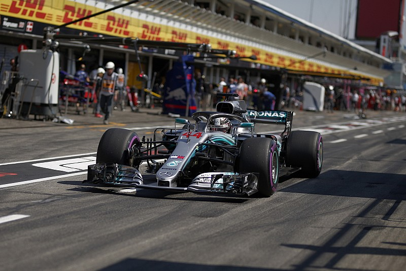 Mercedes сняла с Хэмилтона ответственность за поломку машины в квалификации
