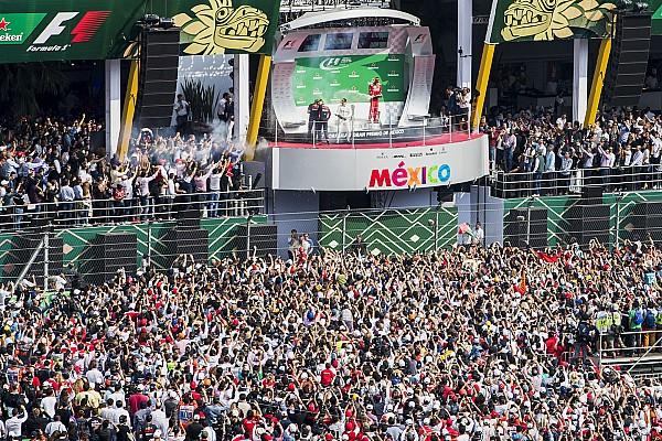 F1 El GP de México el mejor evento de F1 por tercer año consecutivo