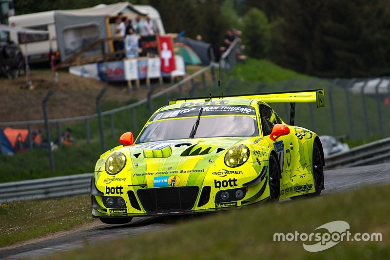 nurburgring 24h porsche in command after six hours. Black Bedroom Furniture Sets. Home Design Ideas