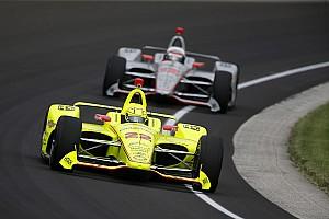 IndyCar Crónica de entrenamientos Penske lidera la primera práctica para Indy 500