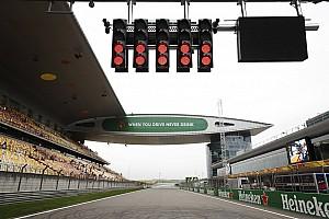 Формула 1 Результаты Гран При Китая: стартовая решетка