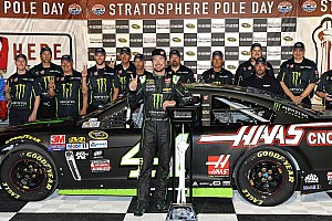 NASCAR Cup Qualifying report Kurt Busch takes second straight pole of 2016