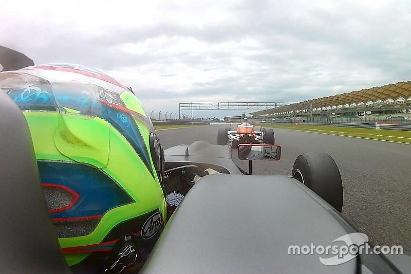 Mengemudikan mobil Formula Masters bersama Keanon Santoso