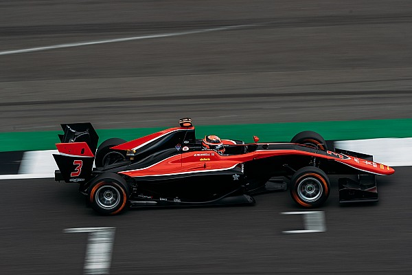 Silverstone GP3: Russell leads ART 1-2-3 in qualifying