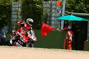 Superbike-WM Rennbericht Superbike-WM Italien: Chaz Davies gewinnt den ersten Imola-Lauf nach Abbruch