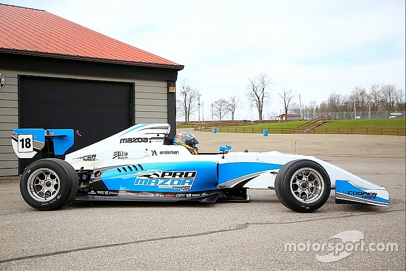 Juncos buys new Tatuus PM-18s, confirms three-car Pro Mazda entry