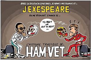 Formule 1 Contenu spécial L'humeur de Cirebox - Hamilton et Vettel inspirent Shakespeare