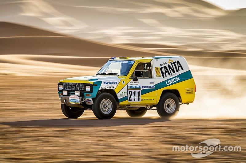 VIDÉO - Un Nissan Patrol du Dakar 1987 restauré