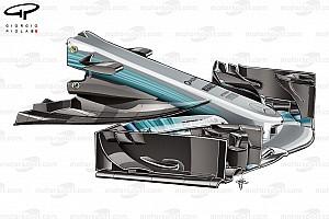 Formel 1 Fotostrecke Formel-1-Technik: Entwicklung des Mercedes F1 W08 in der Saison 2017