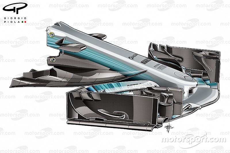Formel-1-Technik: So hat Mercedes den W08 optimiert