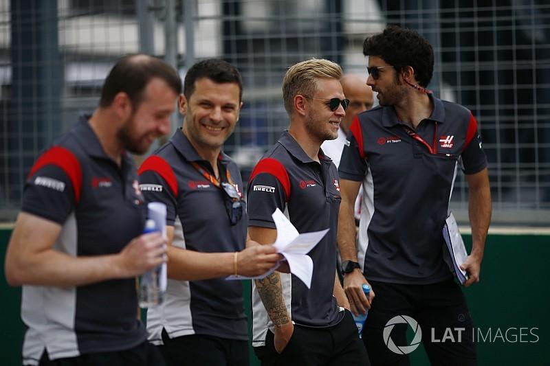 Haas использует споттеров в квалификации в Баку
